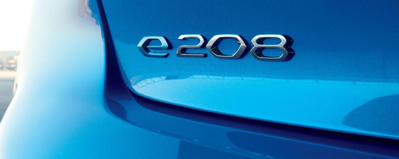 Neuer-PEUGEOT-208–Logo-e-208