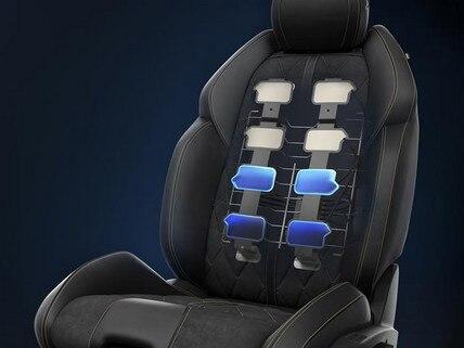 Elektrisch verstellbare AGR-Sitze mit Memory-Funktion, Sitzheizung und Mehrpunktmassagefunktion – der neue Business-Kombi PEUGEOT 508 SW